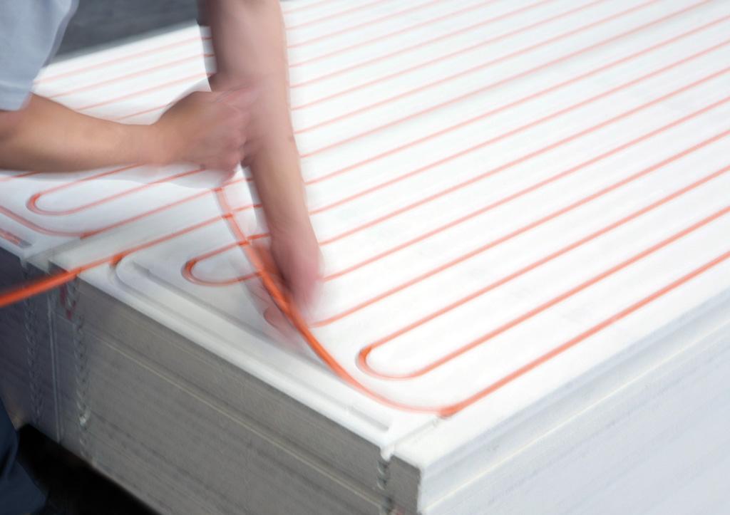 Plafond chauffant rafraichissant moduleceiling de variotherm for Faux plafond chauffant