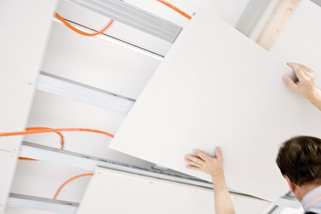 plafond chauffant rafraichissant moduleceiling de variotherm. Black Bedroom Furniture Sets. Home Design Ideas